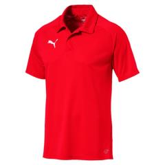 Liga Polo Shirt ADULT - Red-White