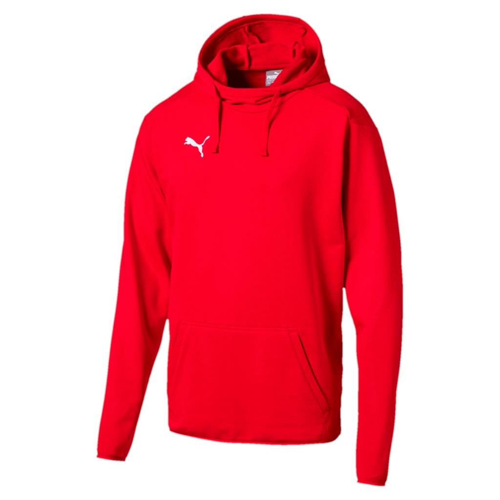Liga Hoody Adults - Red-White