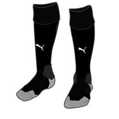 Liga Sock  - Black-White
